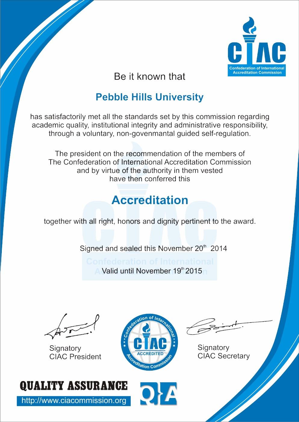 PHU - CIAC ACCREDITATION CERTIFICATE (2)