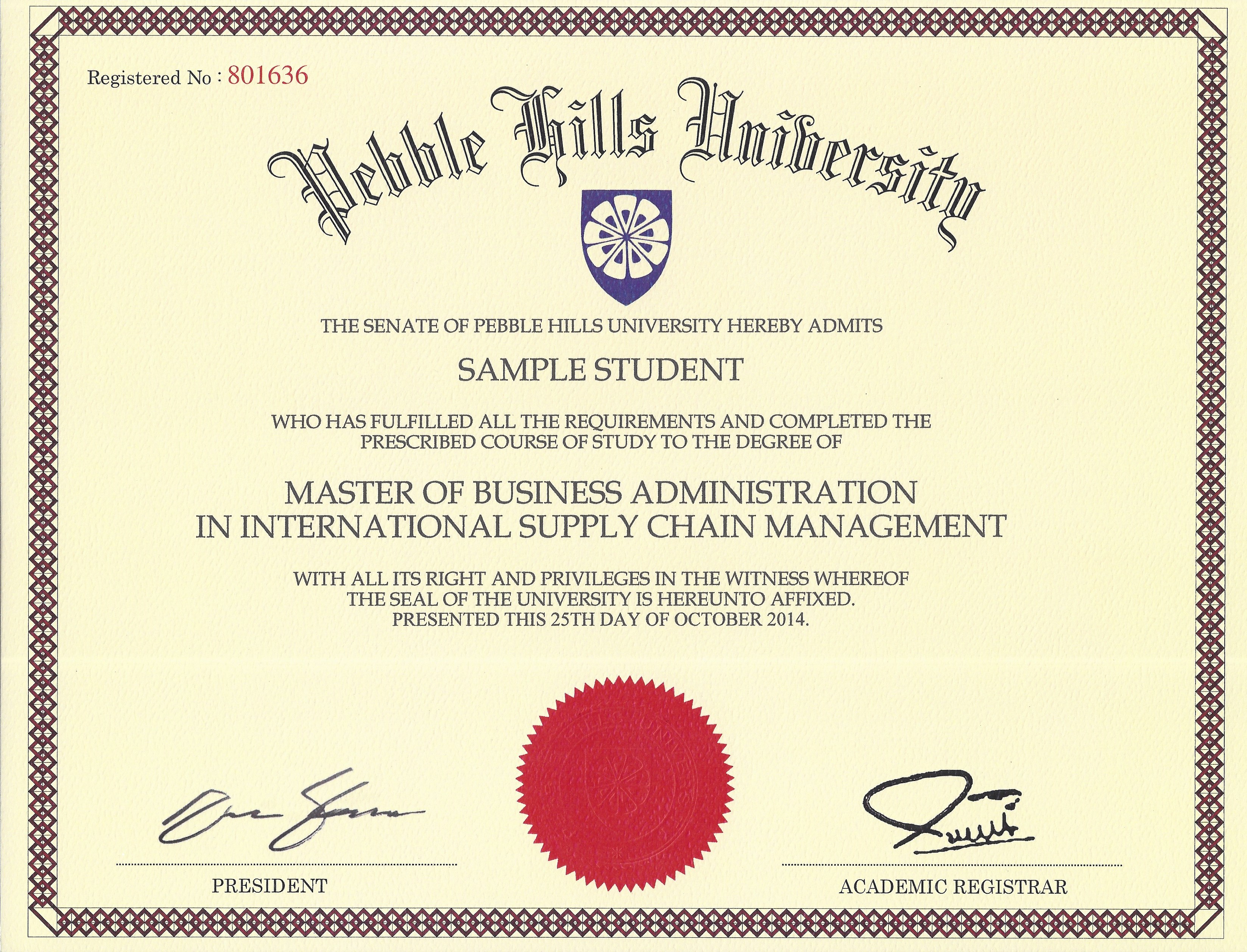 Dba Your Terminal Degree In Business Pebble Hills