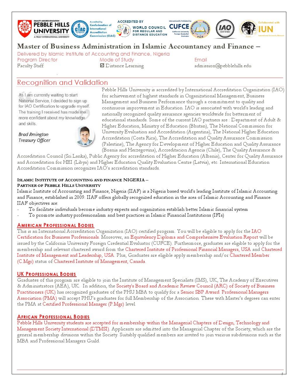 MBA Islamic Accountancy and Finance_iiafn p.1